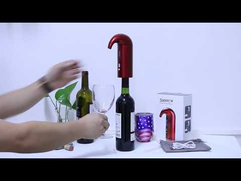 Electric Wine Decanter Aerator One-Touch Automatic Pourer Dispenser