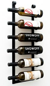 le rustique wall mounted wine rack