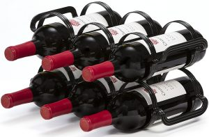 mango steam countertop 6 bottle wine rack