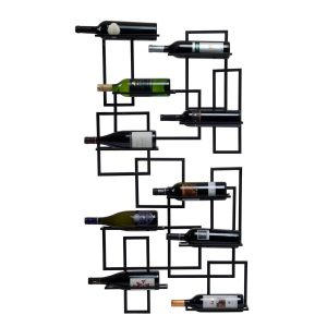 oenophilia wall mounted wine rack