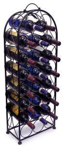 sorbus wine rack free standing