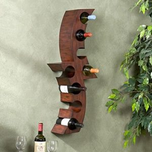 upton home wall mounted wine rack