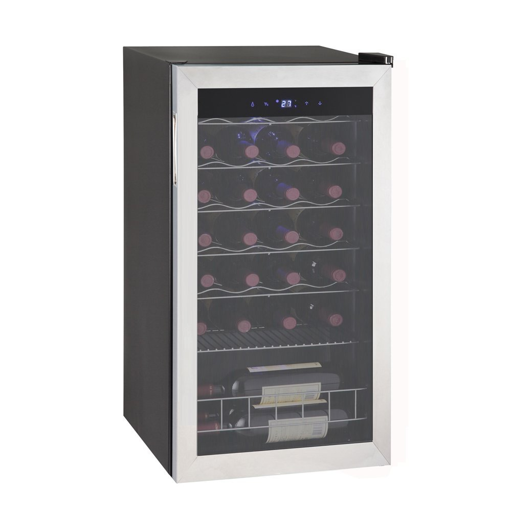 beverage cooler wide inch doors with wine countertop and edgestar french