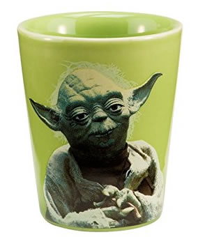 Vandor 99018 Star Wars Yoda Ceramic Shot Glass