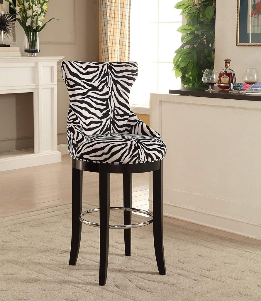 Wholesale Interiors Peace Zebra-Print Patterned Fabric