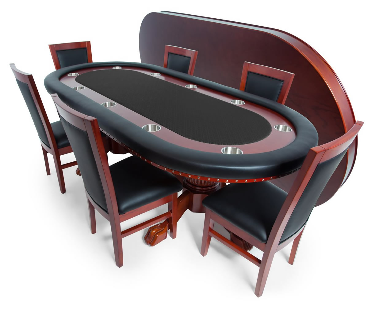 Rockwell Poker table best poker table for your home bar