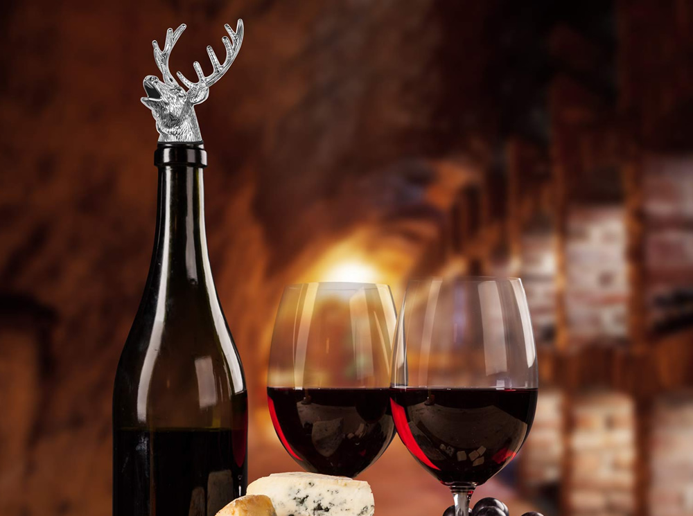 Boao Stag deer and dragon wine aerator