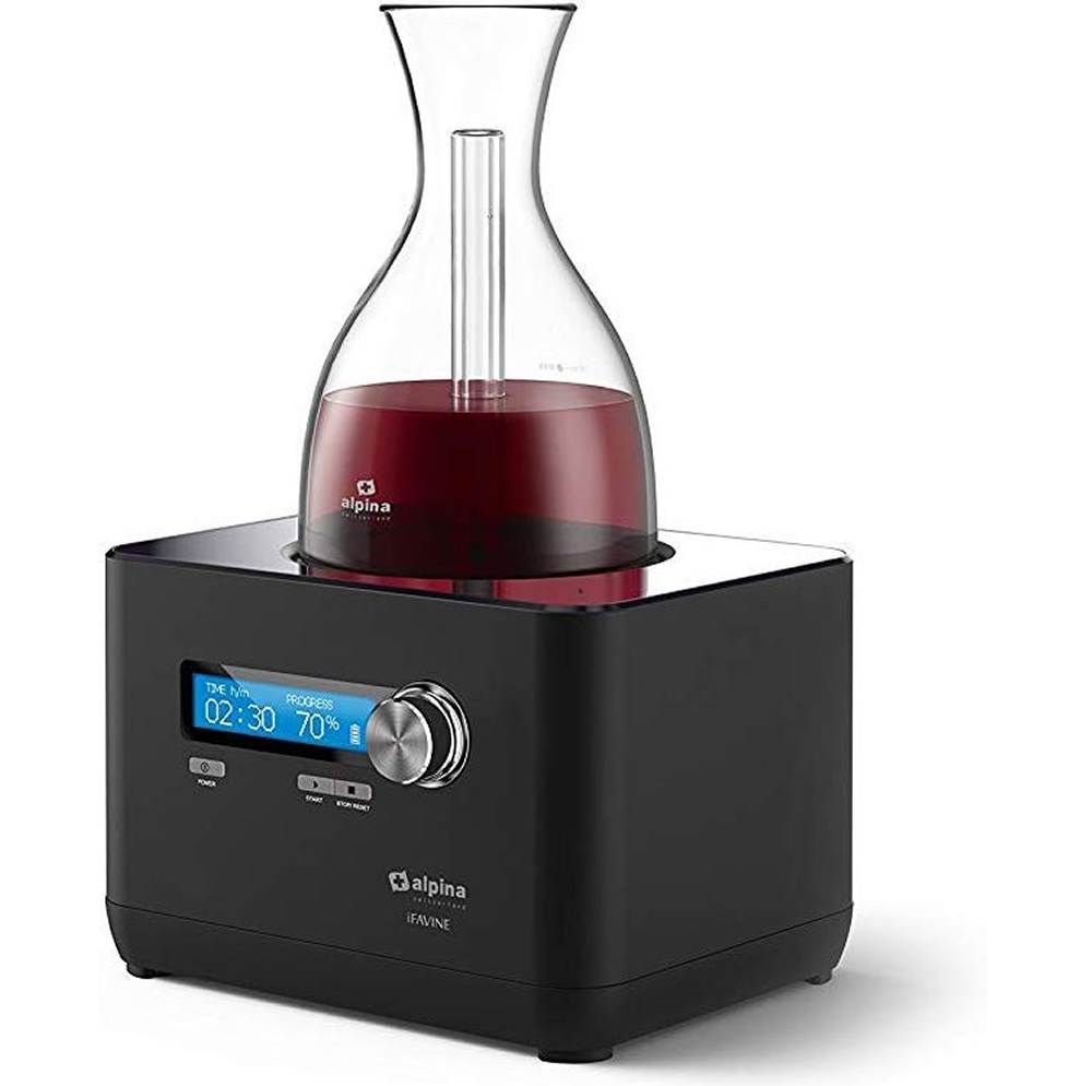 Alpina iFavine iSommelier smart decanter