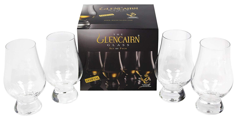 Glencairn 4 glass whiskey set