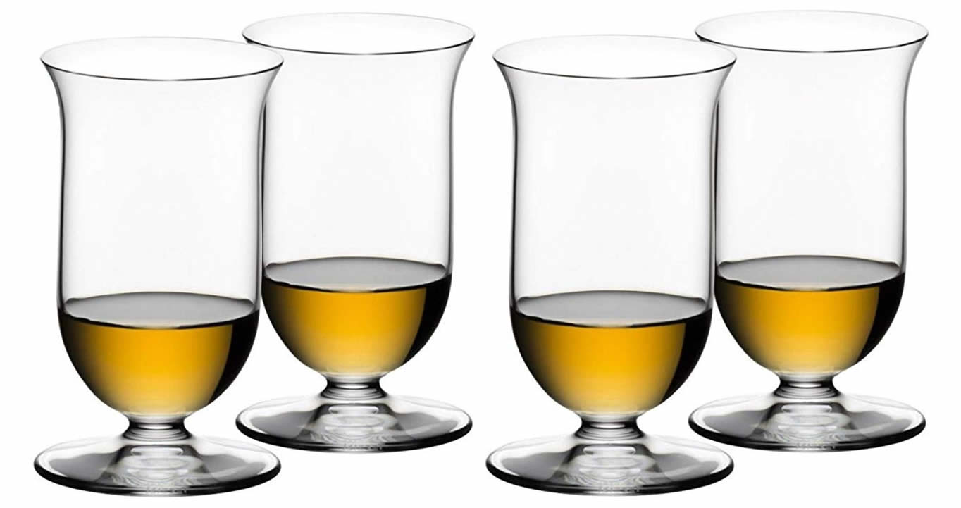 Riedel Vinum whiskey glasses set