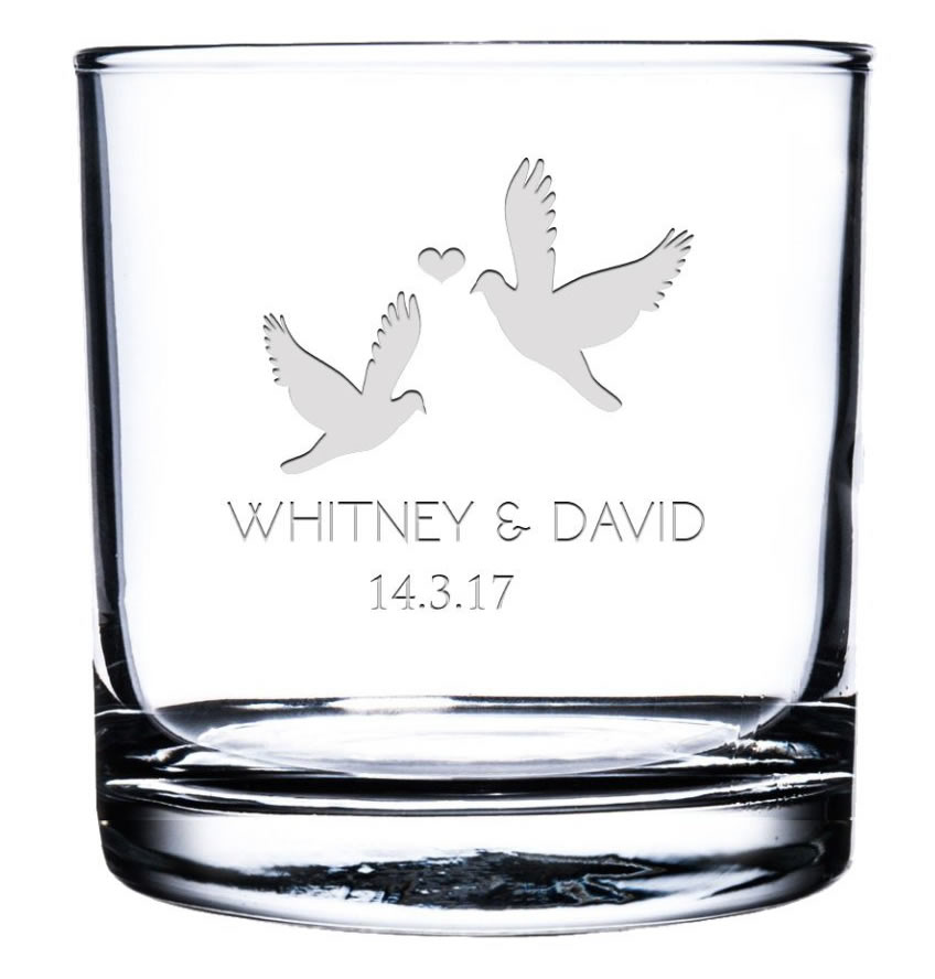 krezzy case etched whisky glass personalized