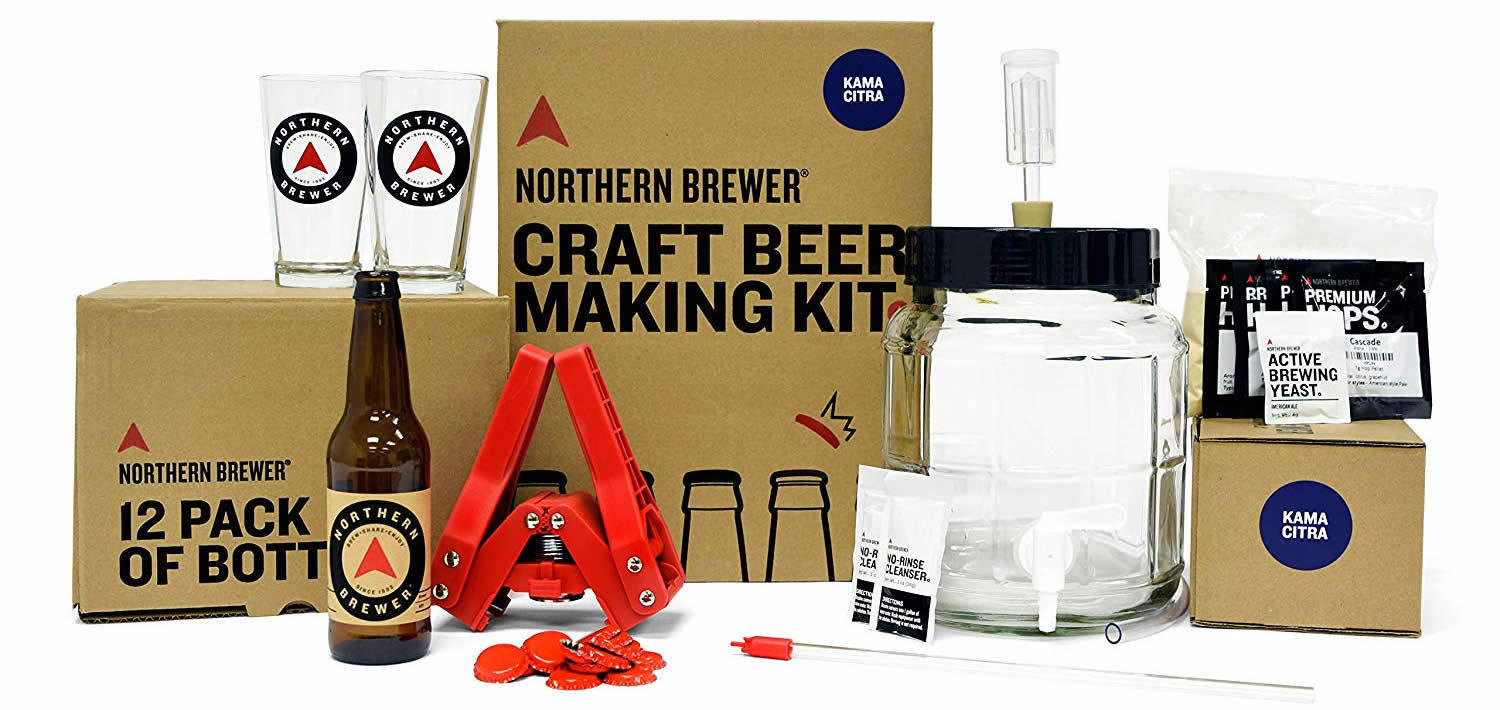 Northern Breweries Kama Citra IPA home bre kit