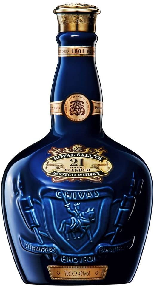 Best Blended Whiskey Chivas Royal Salute 21 year old scotch