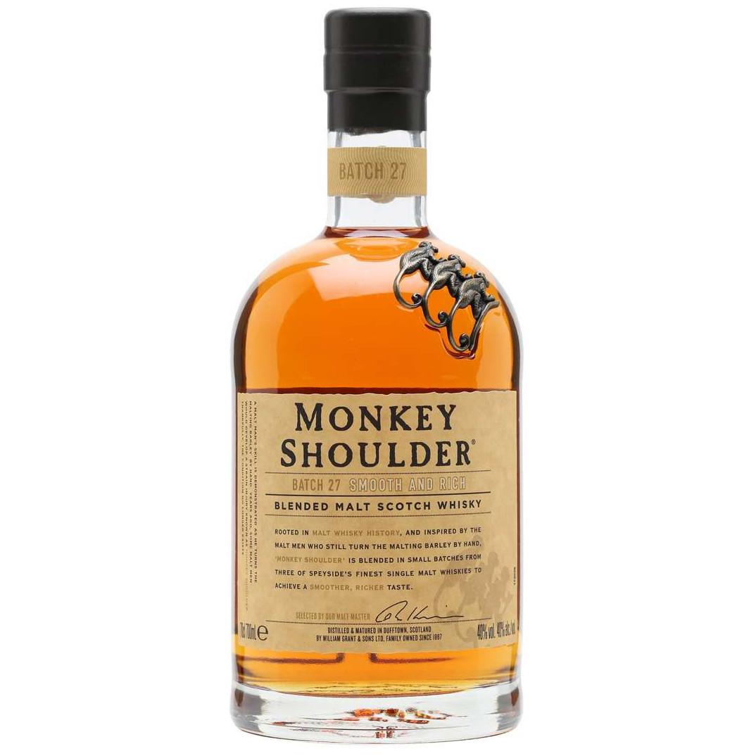 Monkey Shoulder triple blended scotch